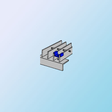 Anchoring For Bar Grating